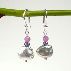 Sigrid keshi pearl earrings