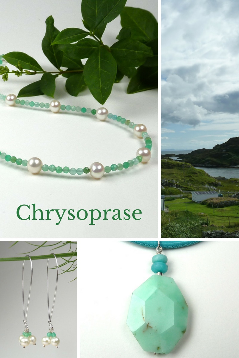 Chrysoprase - a history of the gemstone.