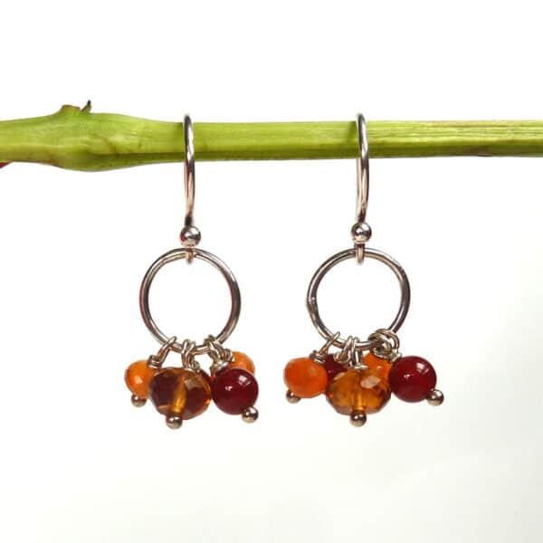 Otillie Earrings - Autumn