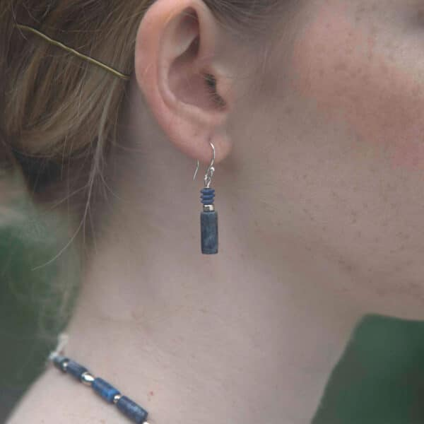 Lapis earrings