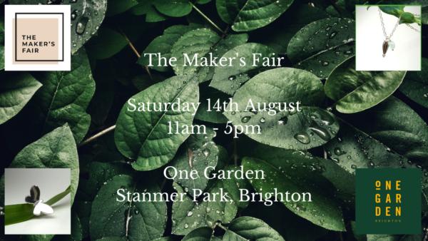 Maker's Fair 14th August
